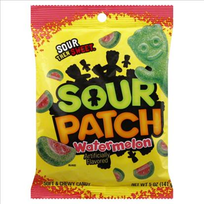 Sour patch for Big bag of swedish fish