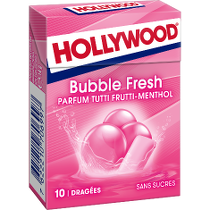 Chewing - gum - Hollywood Bubble Fresh Alt Mondelez Pro